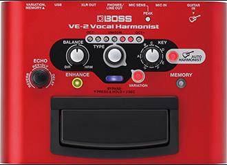 VE-2 ボーカル専用エフェクター
